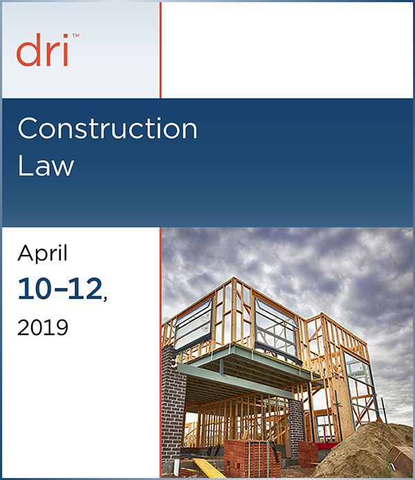 Display event - Construction Law